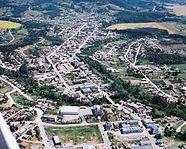 Centro de Taió/SC, cidade-sede da empresa Maquinafort