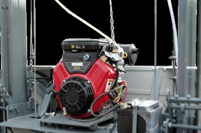 Serra Móvel motor gasolina 23cv