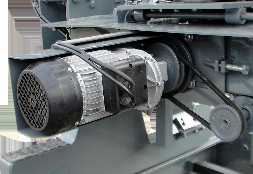 Motor de acionamento do bitolador