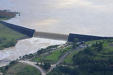 Barragem Oeste em Taió/SC, cidade-sede da empresa Maquinafort