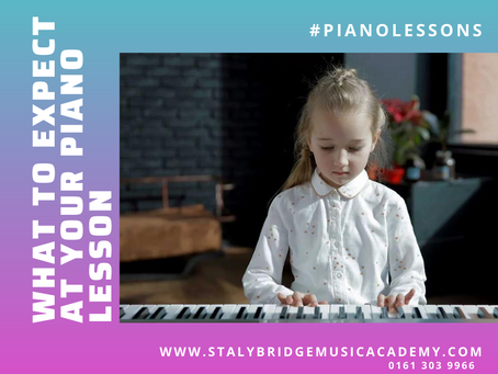 What to expect in a piano lesson?
