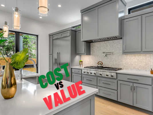 The difference between the cost and value of a bespoke kitchen or bathroom