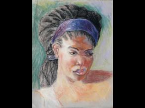 Pastel and mixed media art