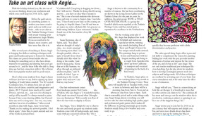 Press about Angie in Tualatin Life Newspaper