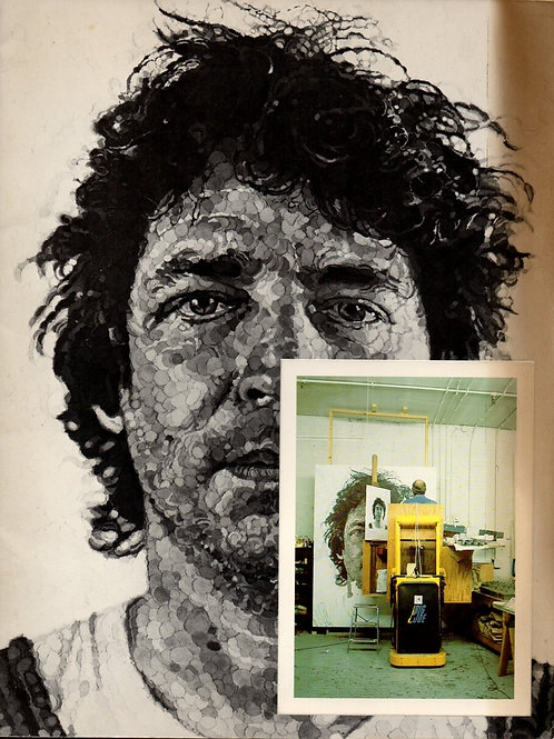 CHUCK CLOSE-PACE GALLERY 1983