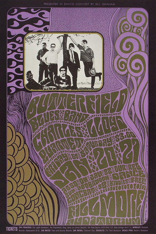 BUTTERFIELD BLUES BAND, 01/1967