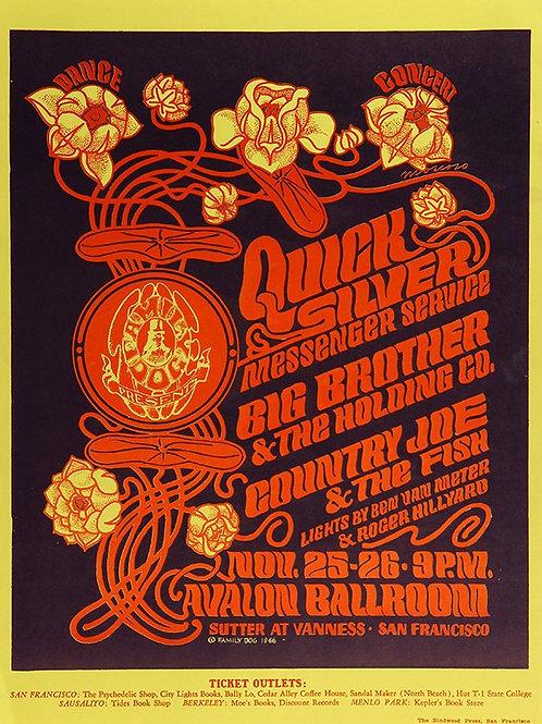 QUICKSILVER, 11/1966