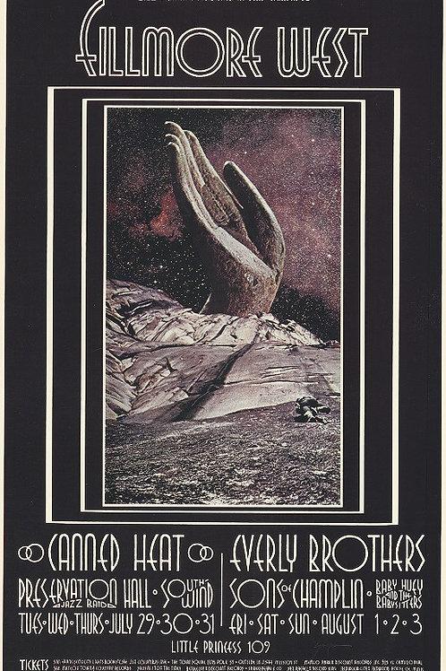 CANNED HEAT, 08/1969