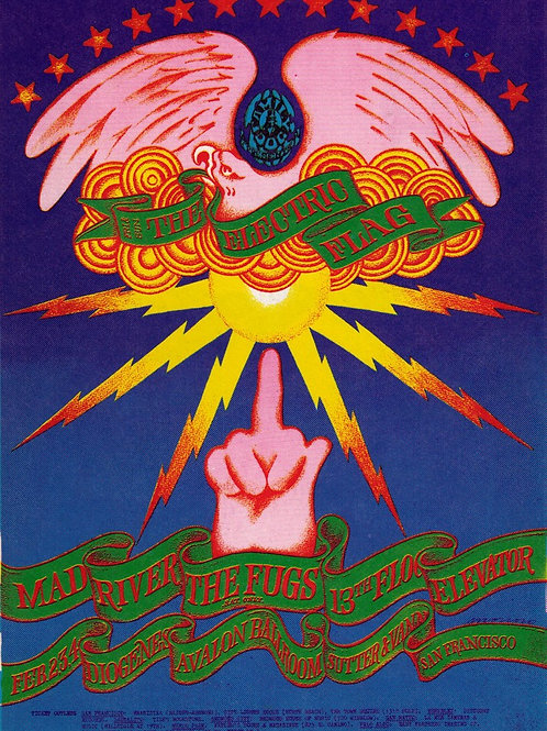 ELECTRIC FLAG, 02/1968