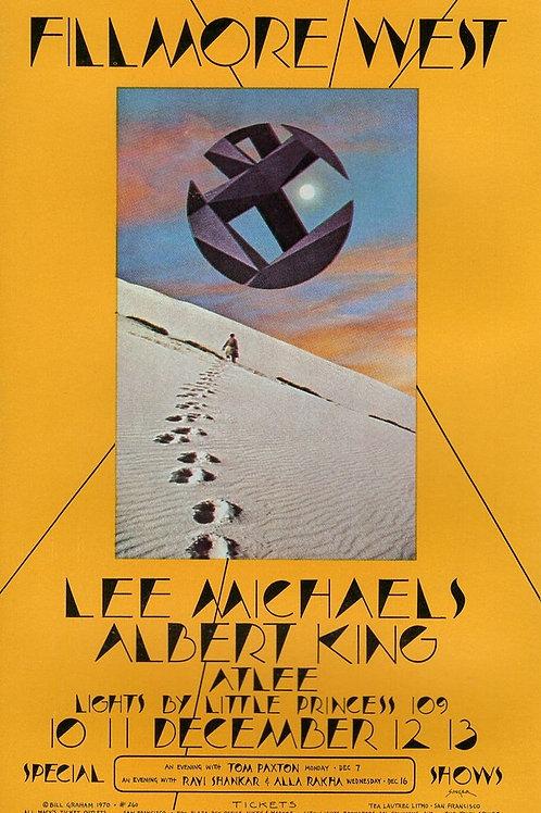 ALBERT KING, 12/1970