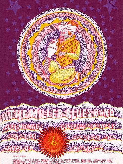 MILLER BLUES BAND, 01/1967