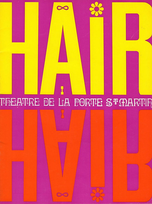 HAIR- PROGRAMME 1969
