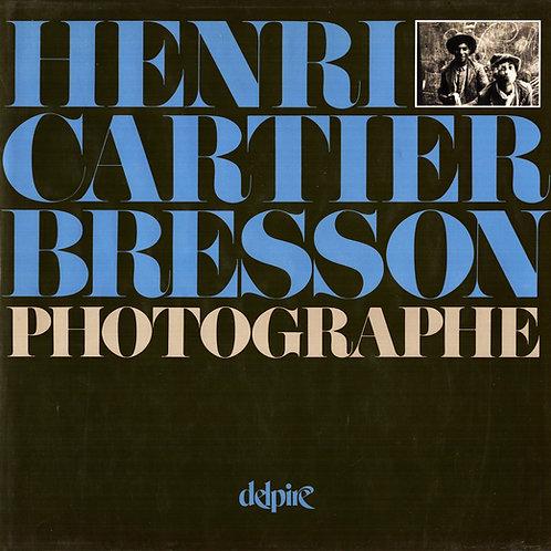 HENRI CARTIER-BRESSON PHOTOGRAPHE