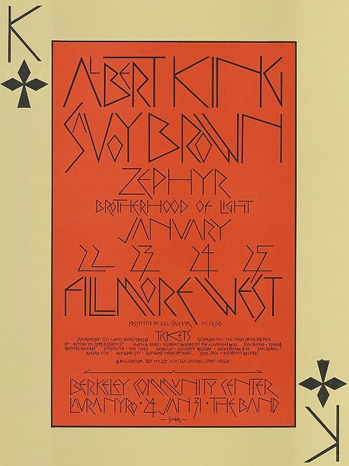 ALBERT KING, 01/1970