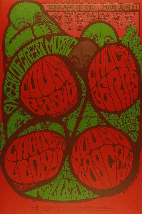 CHUCK BERRY, 08/1967