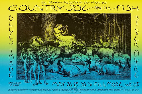 COUNTRY JOE, 05/1970