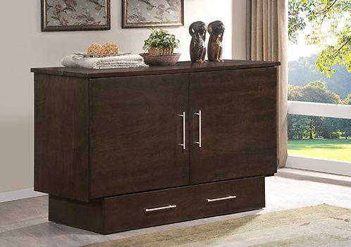 Creden-ZzZ™ Queen Cabinet Bed Original Creden-ZzZ in Coffee Finish Queen