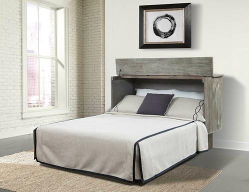 Creden-ZzZ™ Cabinet Bed The Studio Ash Queen