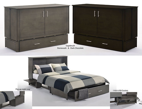 Night & Day Sagebrush Cabinet Bed