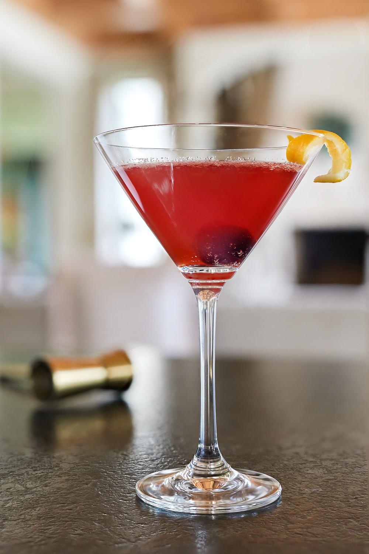 The Joanie by DRY Botanical Bubbly. DRY Vanilla soda makes a great non-alcoholic mixer. Non-alcoholic martini.