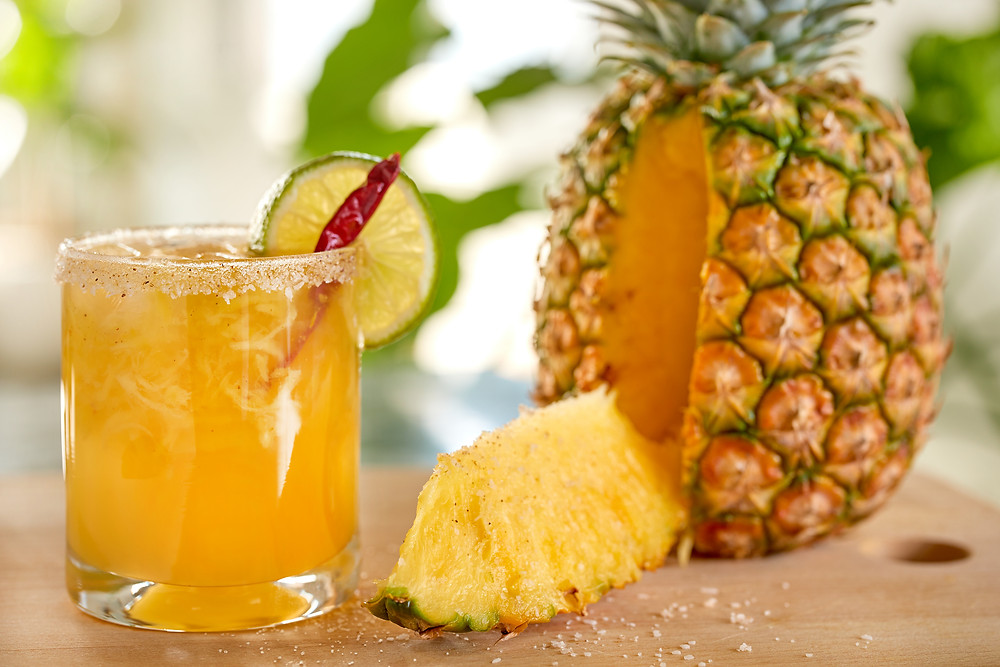 DRY Soda's Pineapple Botanical Bubbly Moctail. 750ML Celebration bottles. Best Summer non-alcoholic beverages.