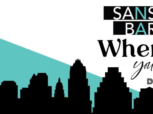 Sans Bar Where You Are Celebrates Sober October!