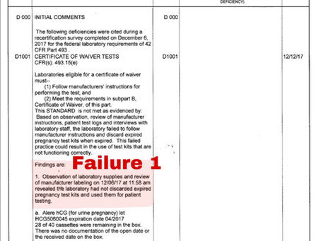Disturbing: DHHS lab inspection report shows numerous failures at Southwestern Women's Options