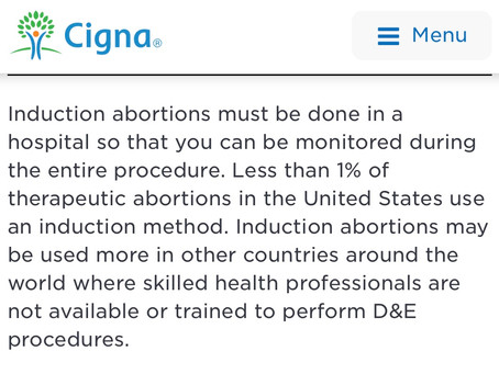 Outpatient Induction Abortions Are So Dangerous Insurance Companies Refuse To Cover Them