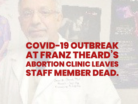 BREAKING: AOT Files OSHA Complaint Against Franz Theard After Clinic Staff Dies Of Covid-19