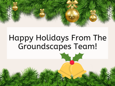 Happy Holidays From The Groundscapes Team!