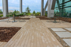 Commercial Flooring and Outdoor Relaxation Spot
