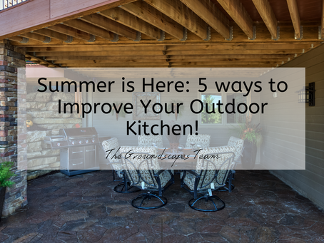 Summer is Here: 5 ways to Improve Your Outdoor Kitchen!