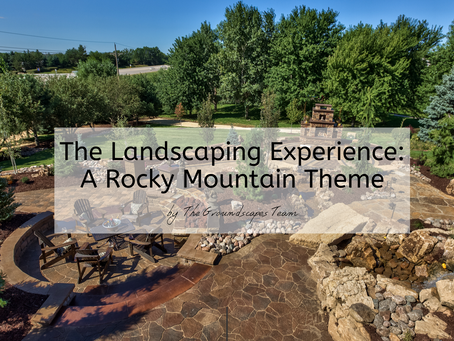 The Landscaping Experience: A Rocky Mountain Theme