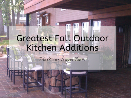 Greatest Fall Outdoor Kitchen Additions