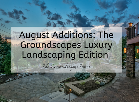 August Additions: The Groundscapes Luxury Landscaping Edition