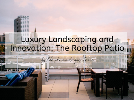 Luxury Landscaping and Innovation: The Rooftop Patio