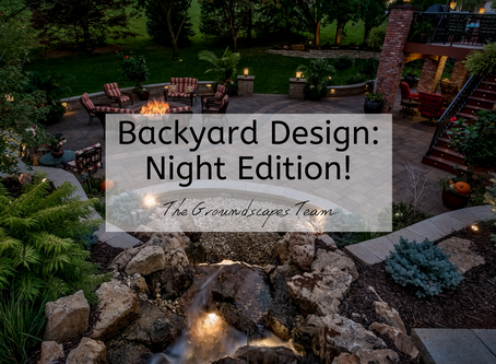 Backyard Design: Night Edition!