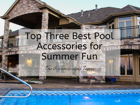 Groundscapes: Top Three Best Pool Accessories for Summer Fun
