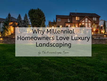 Why Millennial Homeowners Love Luxury Landscaping