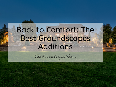 Back to Comfort: The Best Groundscapes Additions