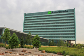 TD Ameritrade Landscape and Trees