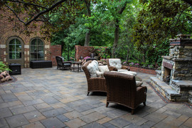 Patio and Fire Place
