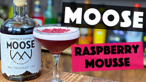 How to make a Raspberry Cocktail with MOOSE Alpine Spirit