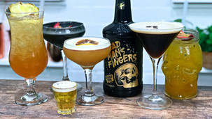 5 Dead Mans Fingers Spiced Rum Cocktails including Rum Punch and Espresso Martini