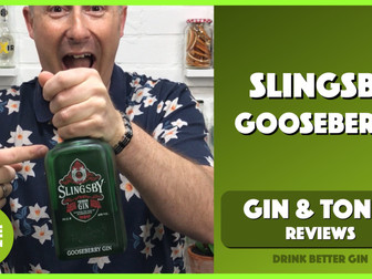 Slingsby Gooseberry Flavoured Gin Review