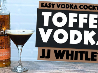 Easy Vodka Cocktails to Make at Home with JJ Whitley Toffee Vodka