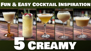 5 EASY Creamy Cocktails (aka Dessert Cocktails) you can make at Home