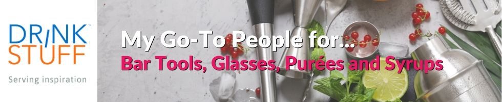 Buy all your Bar Tools, Cocktail Glasses, Purées, Syrups and more from Drinkstuff!