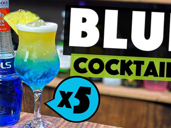 5 INCREDIBLE Blue Curacao Cocktails to make at Home