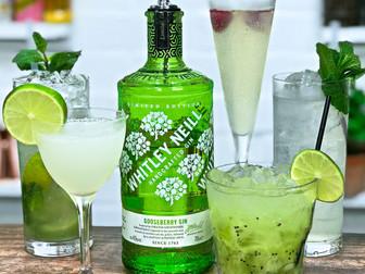 5 EASY Gooseberry Gin Cocktail Recipes - ft Whitley Neill Gooseberry Gin
